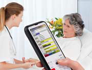 The IT-300 is ideal for use in the healthcare industry