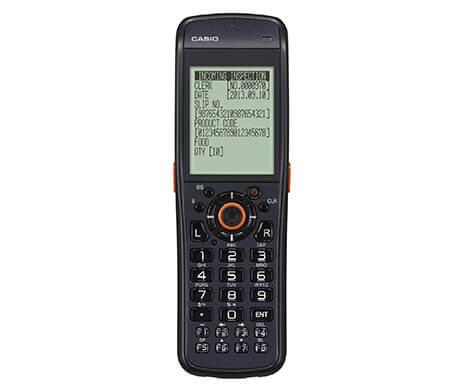 10c6c1f0a771 Terminale portatile CASIO DT-970 - efficiente ed ergonomico