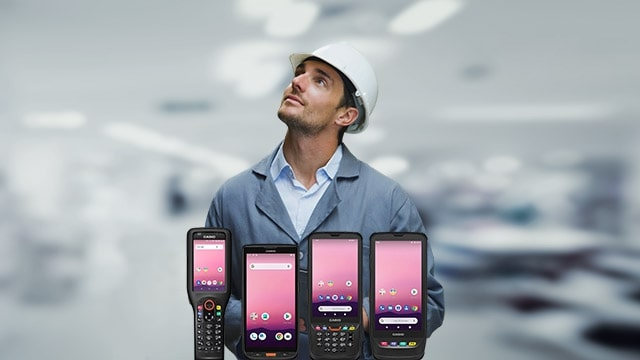 The devices for mobile data capture are suitable for many industries