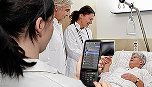 Mobile data capture in the healthcare industry