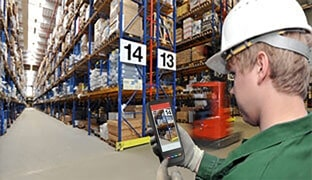 Mobile data capture in the warehousing and inventories industry