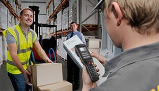 Mobile data capture in the transportation and logistics industry