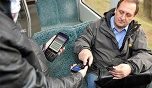 Mobile data capture in the ticketing and mobile payment systems industry