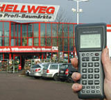 Hellweg building supplies stores use the DT-930