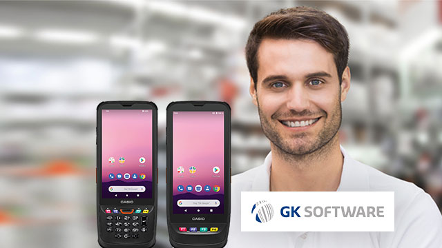 The IT-G500 is an industrial terminal and business handheld combined
